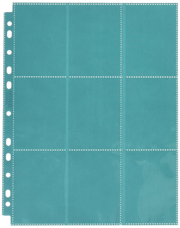 18-Pocket Pages Side-Loading Petrol (10) Card Game, Blue Ultimate Guard UGD010642