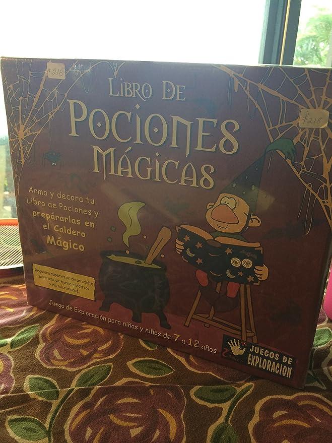 Amazon.com: Libro de Pociones Mágicas - Juego de Exploración: Toys & Games