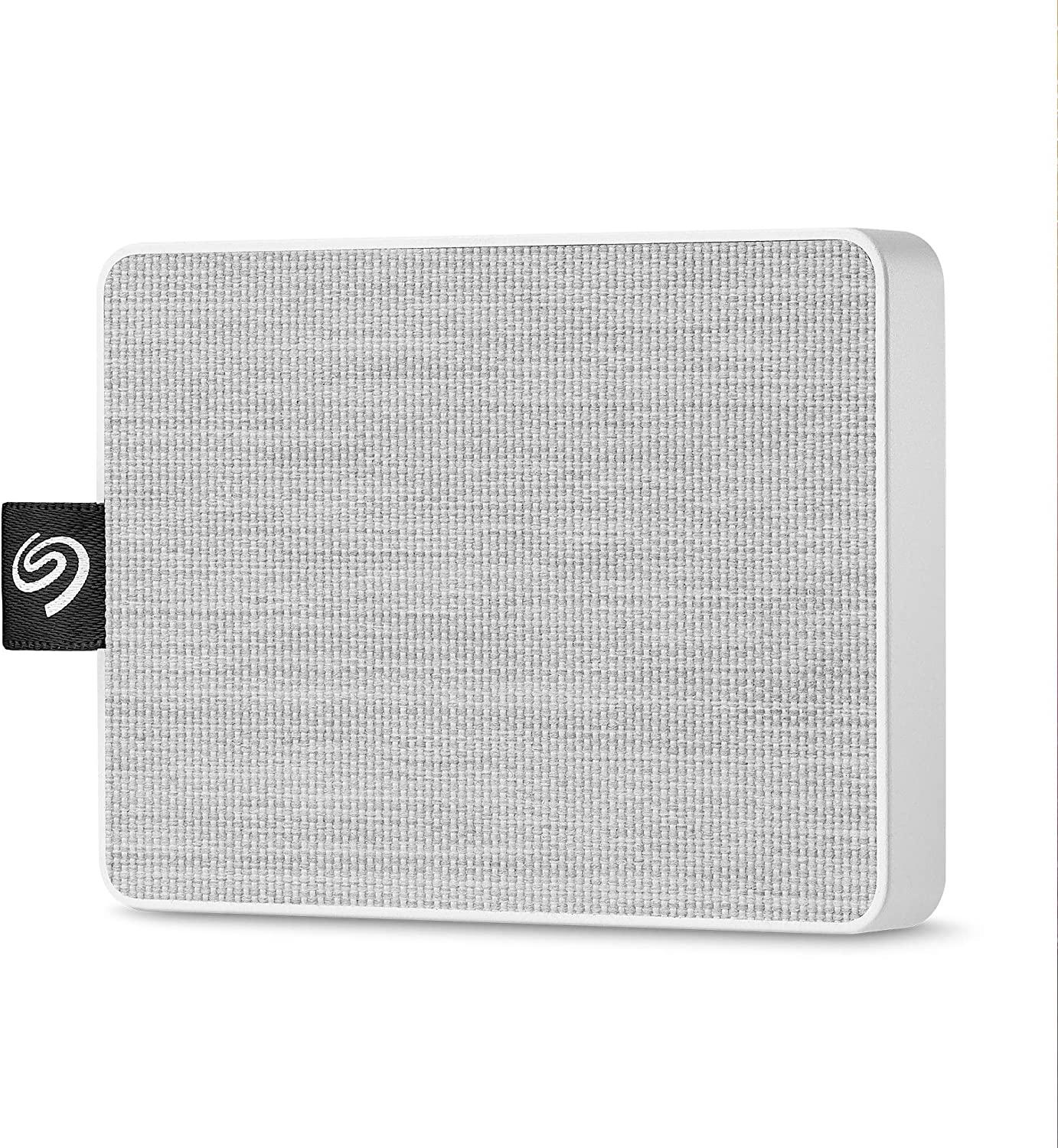 Seagate One Touch SSD 500GB External Solid State Drive Portable – White, USB 3.0 for PC Laptop and Mac, 1yr Mylio Create, 2 Months Adobe CC Photography (STJE500402)