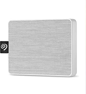 Seagate STJE1000402 One Touch External SSD, 1TB, White