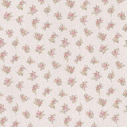 Mirage 986 56037 Clarissa Pink Small Flower Toss Wallpaper
