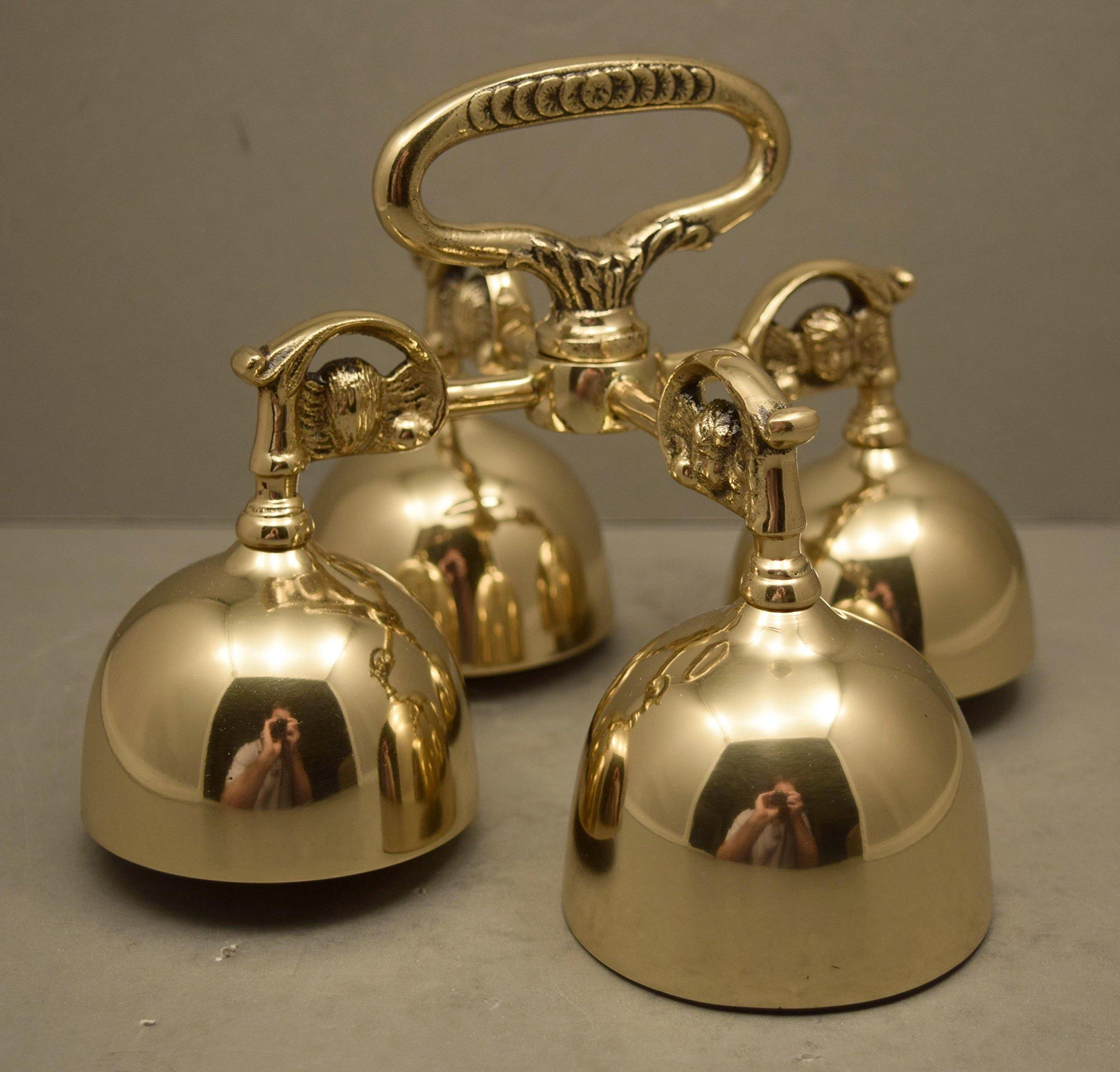 The Best Sounding Bronze Church Communion Bells, Sanctus Bells (CCG-390)