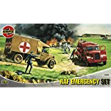 Airfix A03304 RAF Emergency 1:76 Scale Series 3 Plastic Diorama Model Kit