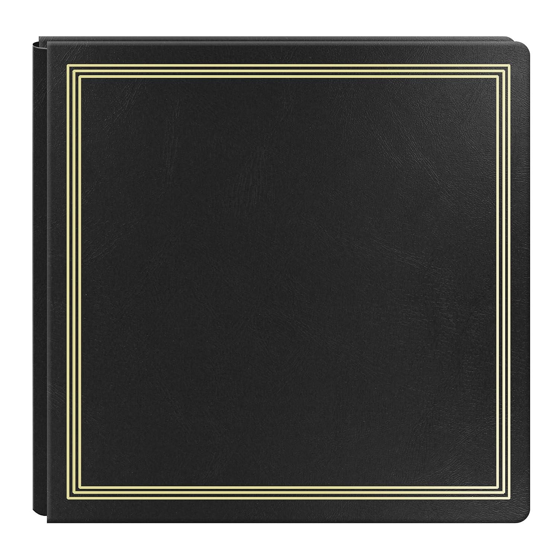 Large Magnetic Page X-Pando Photo Album, Black Pioneer Photo Albums PMV-206BK