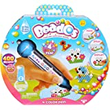 Beados – Kit d'Initiation avec Stylo 4 Couleurs – Kit Créatif Magic Perl' Version Anglaise