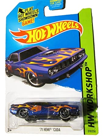 new car release for 2015Amazoncom Hot Wheels 71 Hemi Cuda  New Release for 2015 Toys