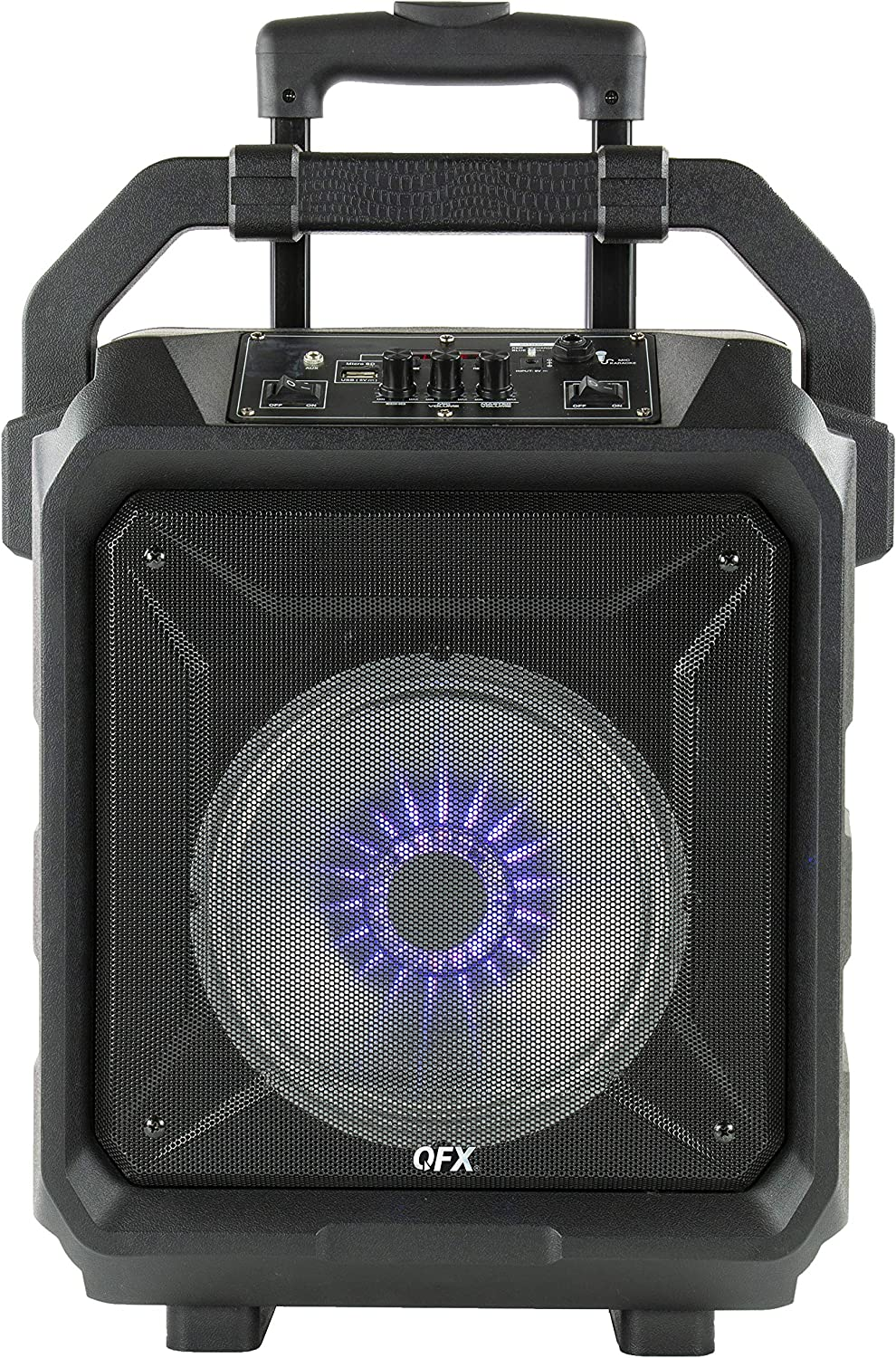 "QFX PBX-70 8"" Rugged Bluetooth Portable Party Sound System"