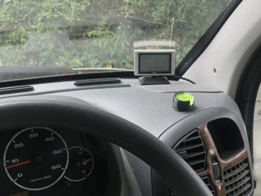 id/éal Dash de Montage 3D CABIN Camping-Car r/églable Indicateur de Niveau /à Bulle Noir