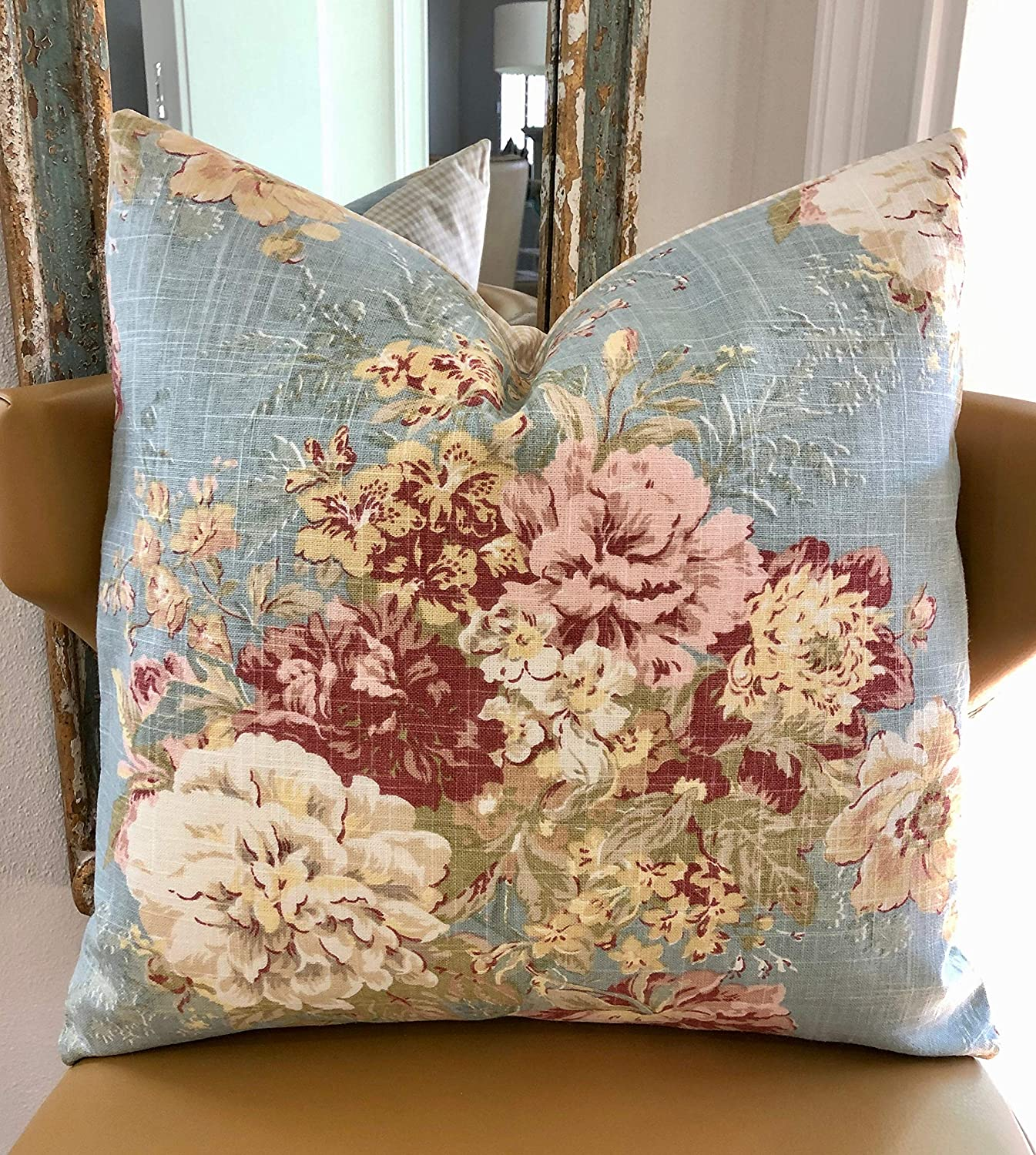 Pillow-French Floral Accent Pillow