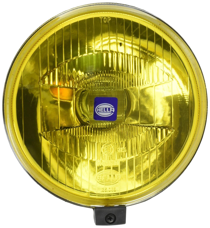amazon com: hella 005750512 500 series amber driving lamp (single):  automotive