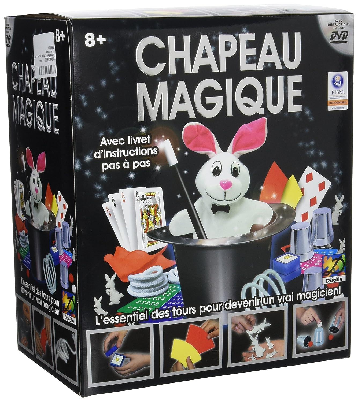 Sombo Exclusives Magic Set - children's magic kits (DEU, DUT, ENG, ESP, FRE, Magi Hat, Black) 4706