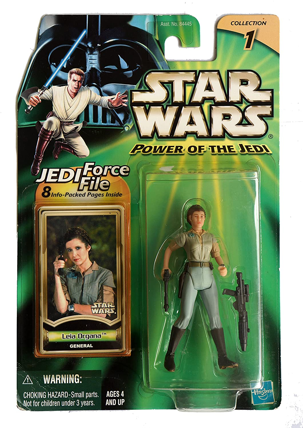 Star Wars Power of the Jedi General Leia Organa Action Figure Kenner