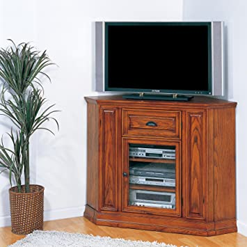 Amazon Com Leick Riley Holliday Boulder Creek Corner Tv Stand 36