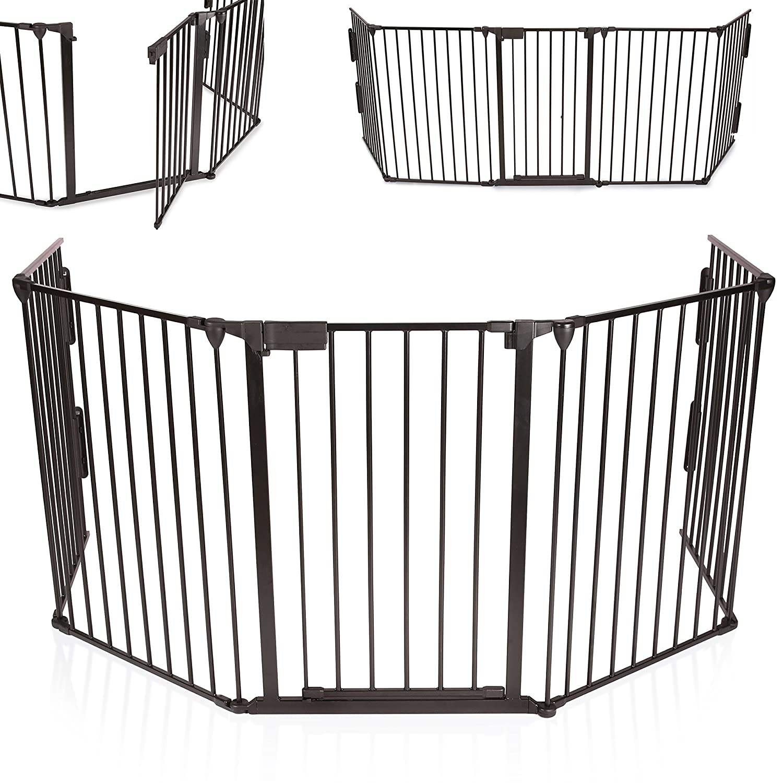 barriere de protection poele a bois. Black Bedroom Furniture Sets. Home Design Ideas