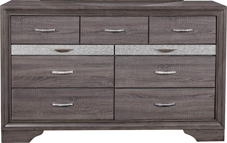 Global Furniture USA Seville Gray Dresser