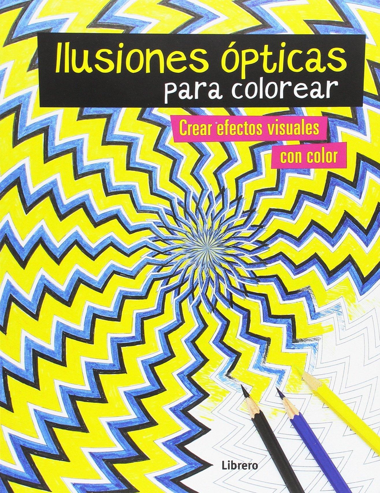 ILUSIONES OPTICAS PARA COLOREAR: Austin Taylor: 9789089988096 ...