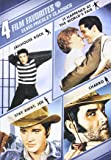 4 Film Favorites: Elvis Presley Classics (Charro, It Happened at the World's Fair, Jailhouse Rock: Deluxe Edition, Stay Away, Joe)