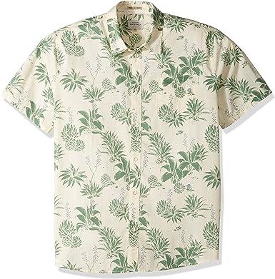 Quiksilver Hombre EQMWT03049 Agavy Camisa floral de manga ...