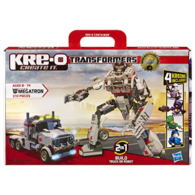 KRE-O Transformers Megatron Construction Set (30688): Toys & Games