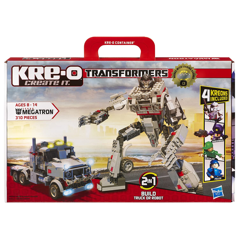 Amazon Kre O Transformers Megatron Construction Set 30688