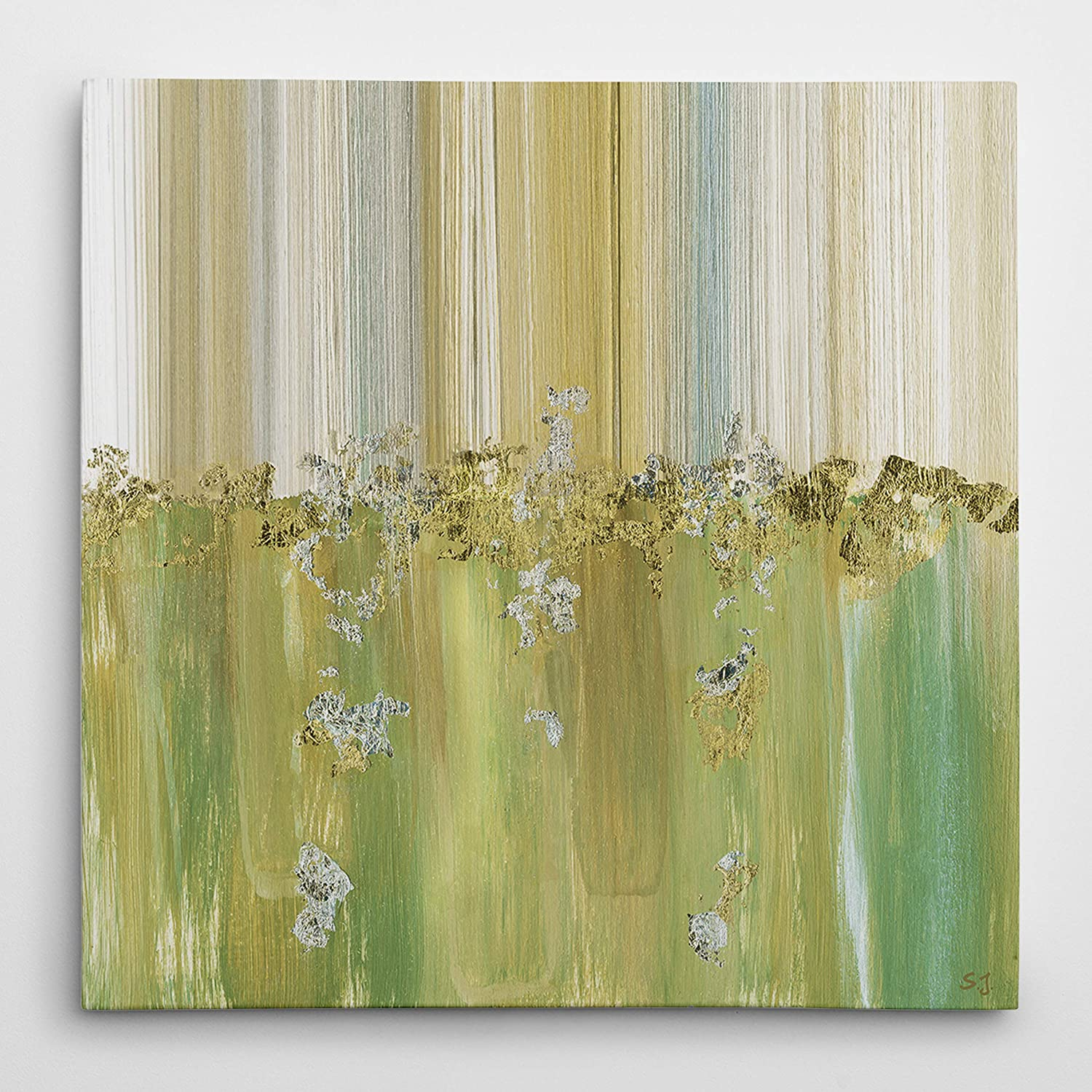 WEXFORD HOME Morning Dew II Gallery Wrapped Canvas Wall Art, 16x16