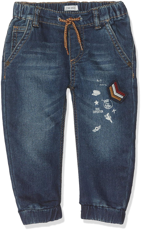IKKS Denim Knitlook Patchs Jeans B/éb/é gar/çon
