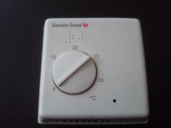 Saunier duval - Termostato de ambiente - Referencia 86507 - : 08605700: Amazon.es: Bricolaje y herramientas