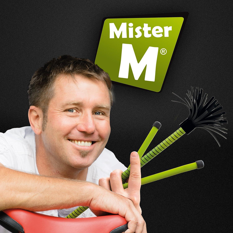 "Mister M ✓ ""The Ultimate Flowerstick Set"" / CE Tested / Flowerstick + Sticks + Online Video - Flowerstick and Hand Sticks are collapsable (Multi 1)"