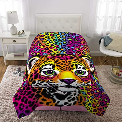 7a2569e027d Amazon.com  Lisa Frank Wildside Comforter Twin Full  Home   Kitchen
