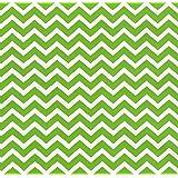 Stone Wrap Premium Gift Wrapping Paper, Chevron (Green)