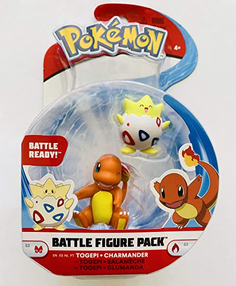 Pokemon Battle Figure Pack Togepi und Glumanda Wave 6 Charmander Collector Figur