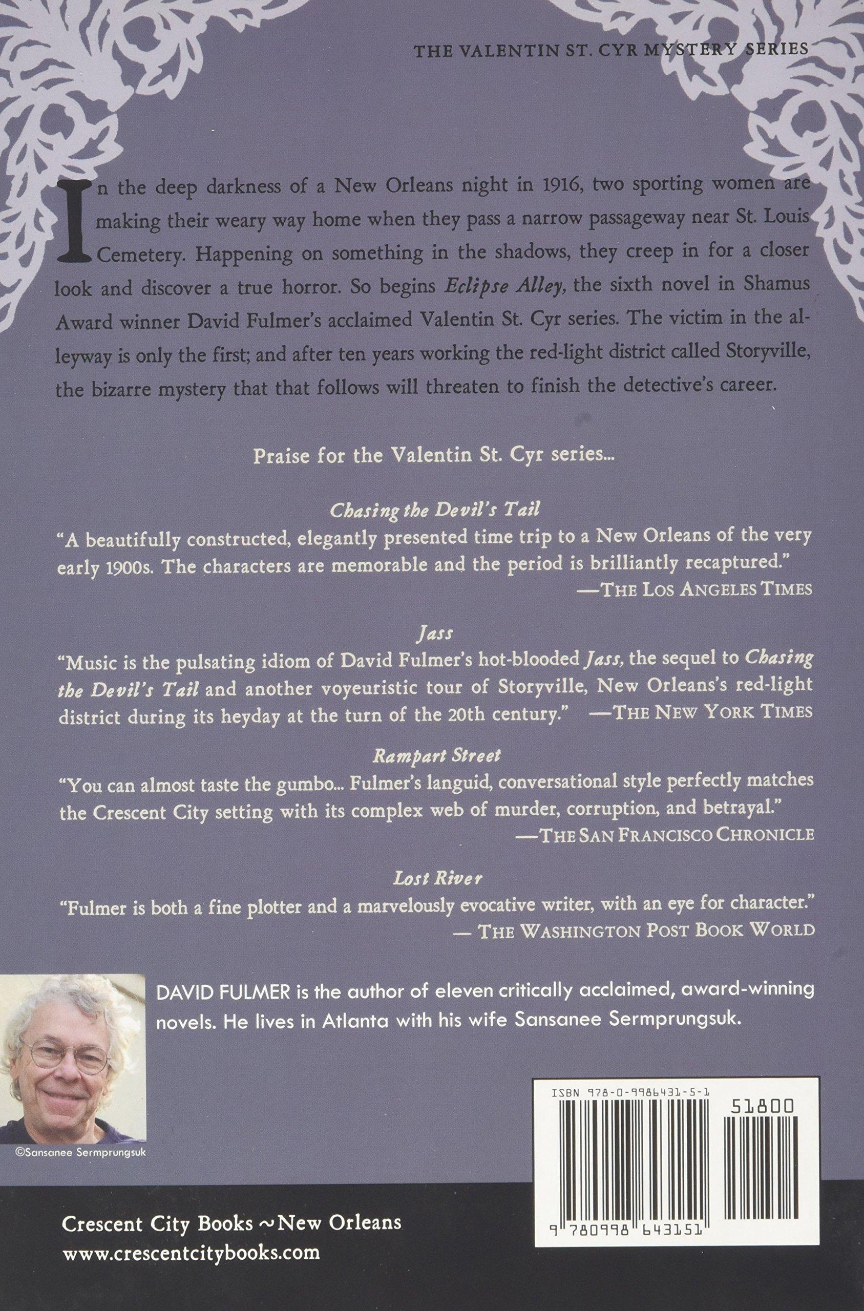 Eclipse Alley (The Valentin St. Cyr Mysteries): Amazon.es: Fulmer, David: Libros en idiomas extranjeros