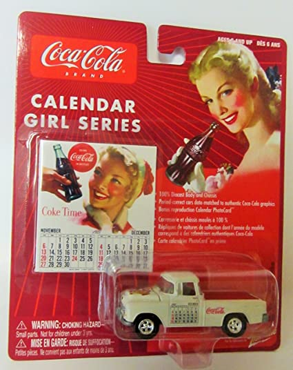 Amazon.com: Coca Cola Brand Calendar Girl Series #9 1955 ...