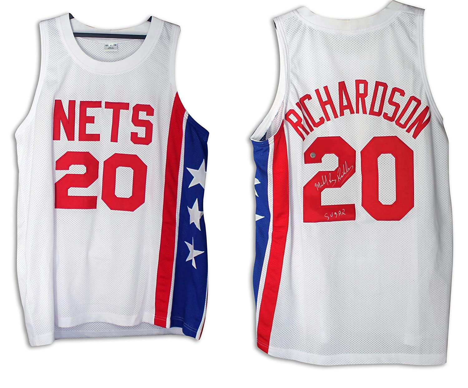 well wreapped Michael Ray Richardson New Jersey Nets Autographed