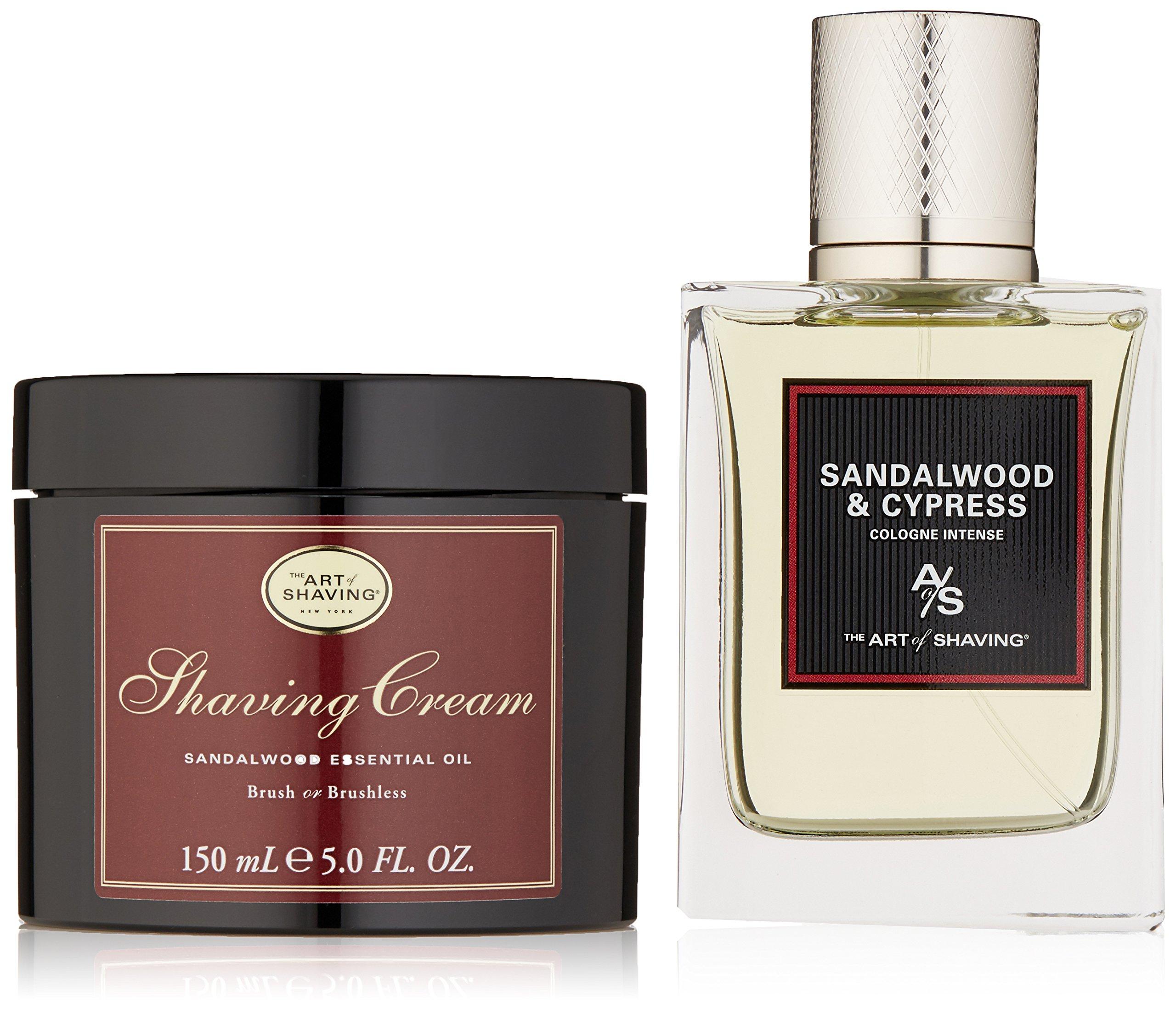 The Art of Shaving 2 Piece Fragrace Gift Set, Sandalwood by The Art of Shaving