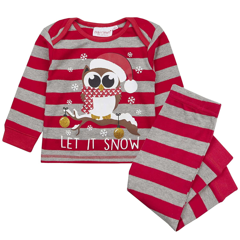 Babies Christmas Pyjamas Sleepwear Christmas Eve Outfit Unisex Designs