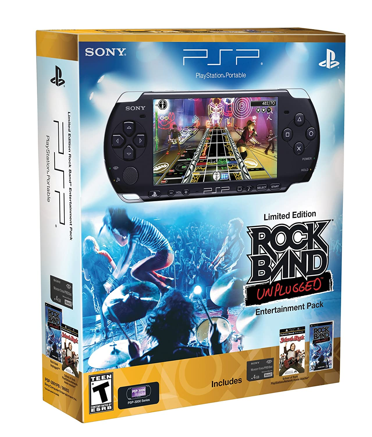 Amazon Com Playstation Portable Limited Edition Rock Band