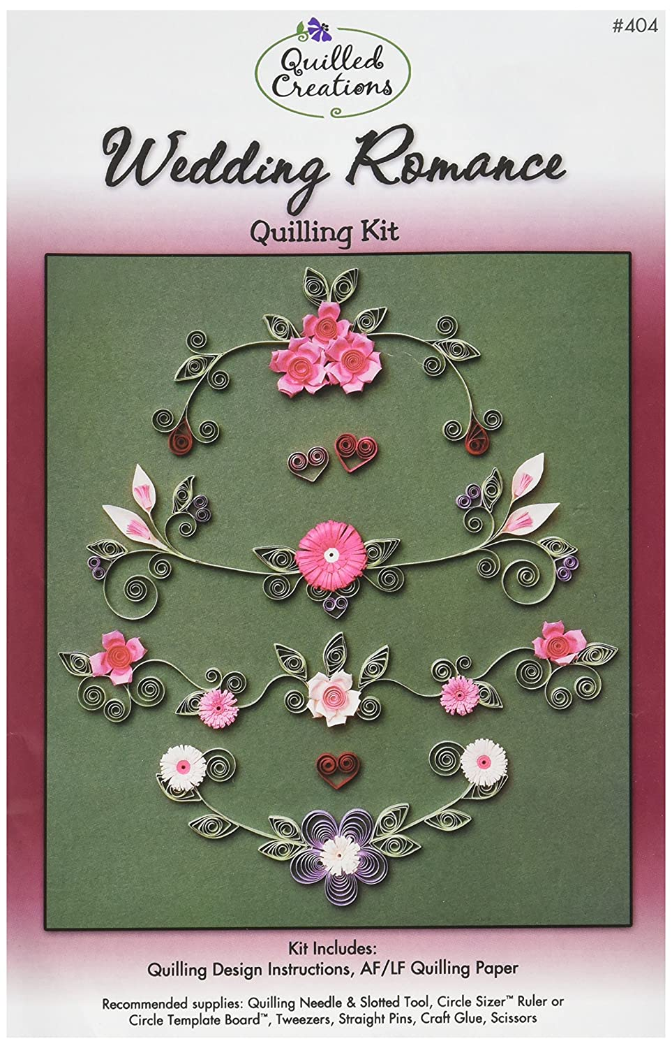 Quilled Creations Birthday Quilling Kit