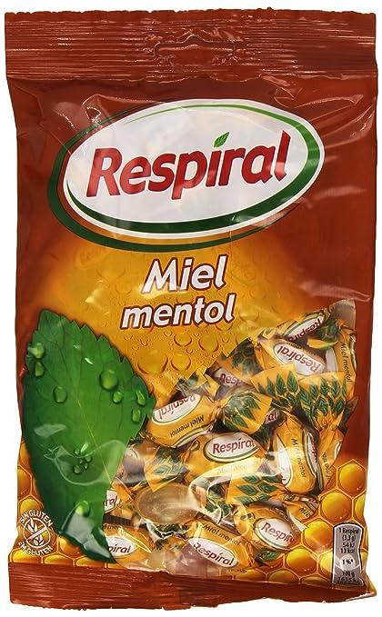 Respiral Miel Mentol Caramelo Duro Refrescante - 150 g