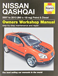 nissan qashqai petrol diesel 07 13 haynes repair manual rh amazon co uk nissan x trail owners manual 2005 nissan x trail owners manual 2003