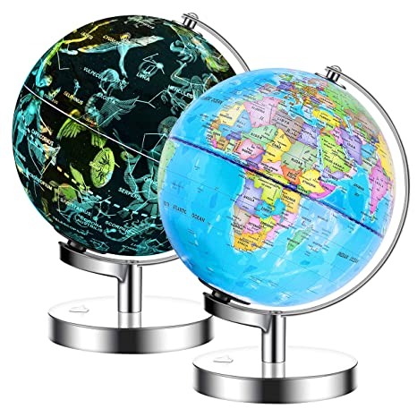 IKONG 8 inch Iluminated World Globe with Stand-Educational Office Globe on sweden globe view, world globe with rainbow, russia globe view, world map back view, world map flat view, world globes and maps, world globe online, world map clear view, singapore globe view, world globe outline, world map as globe, norway globe view, world map satellite view, world map full view, world globe with countries flags, world globe map all sides, world map globe style, china globe view, egypt globe view, world map globe green,