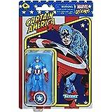 Marvel Hasbro Legends Series - Capitán América - Colección Retro 375
