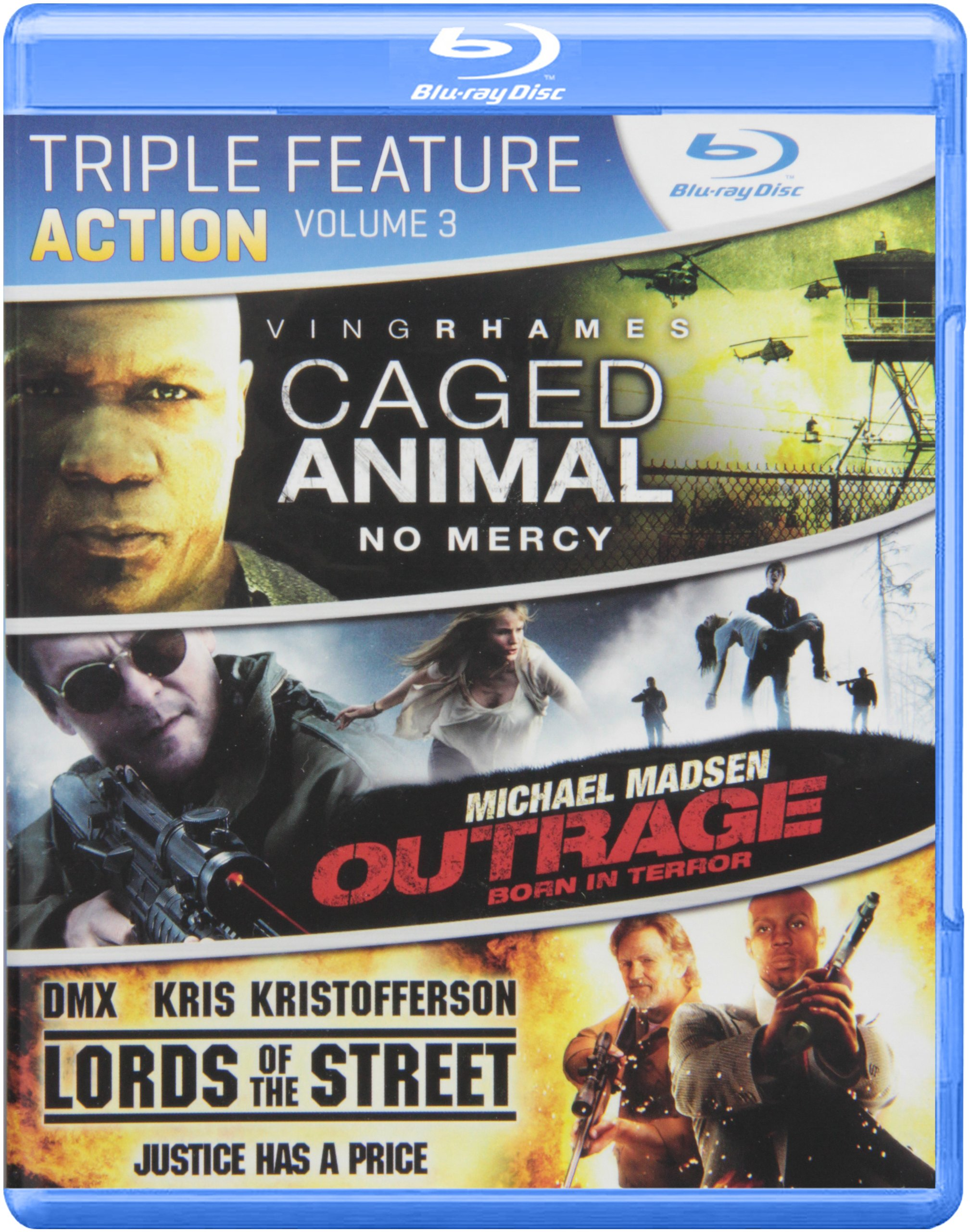 Blu-ray : Action Triple Feature: Volume 3 (Blu-ray)