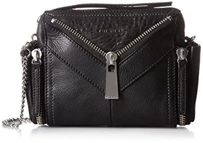 Womensle-zipper Le-claritha - Cros Cross-Body Bag Black (Black) Diesel U2K2bUY