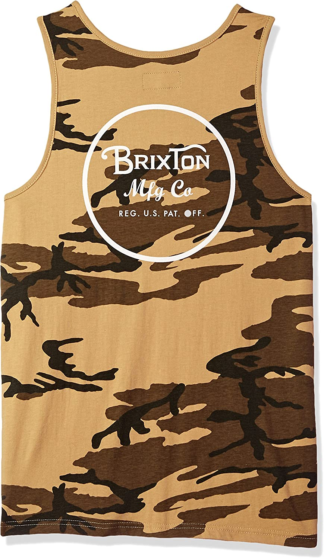Brixton Mens Wheeler Tank Top