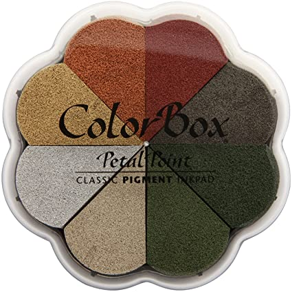 Картинки по запросу clearsnap colorbox pigment petal point ink pad 8 colors-metalextra alchemy