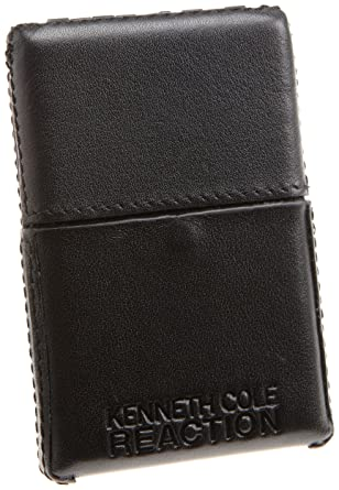 Kenneth cole reaction mens leather flipup business card case black kenneth cole reaction mens leather flipup business card case black one size colourmoves Images