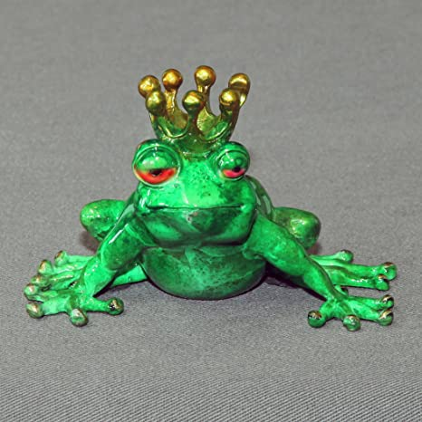Figurine bronze Frog