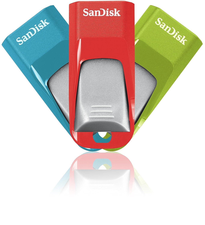 Memoria flash SanDisk Cruzer Edge de GB con USB  Pack de