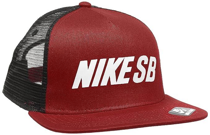 Nike SB Relflective Trucker, Gorra para Niños, Rojo (Dark Cayenne), única